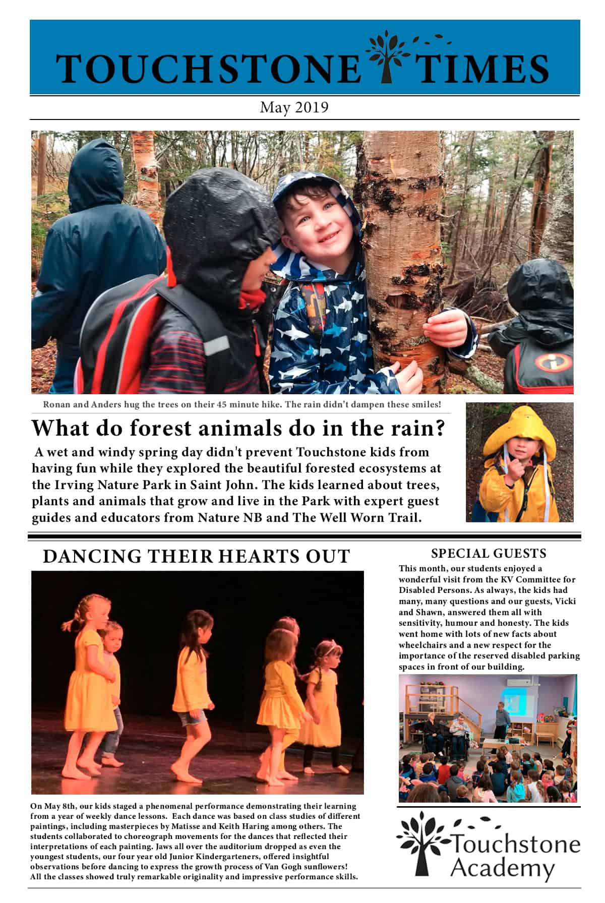 Touchstone Times May 2019